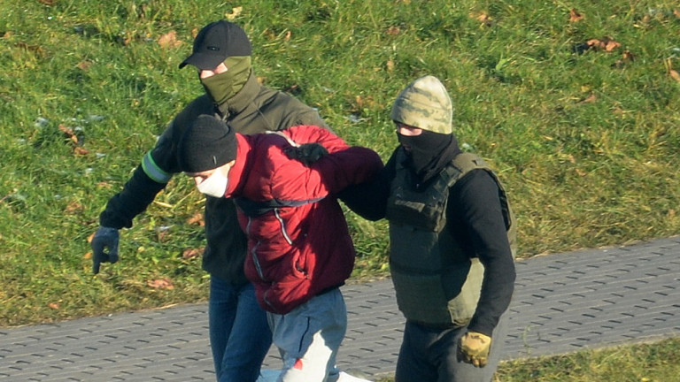 """Сред задържаните на """"Марша на волята"""" в Минск има непълнолетни"""
