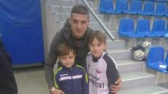 Кирил Десподов присъства на детски турнир в Симитли