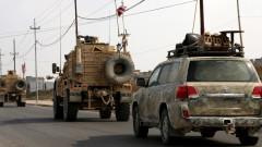 Колона американски бойци се върна в Сирия от Ирак