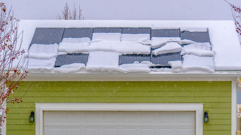 Снимка: Как се произвежда електричество от сняг