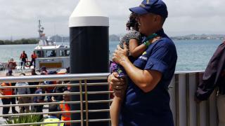 Американската брегова охрана спаси 500 души от горящ ферибот