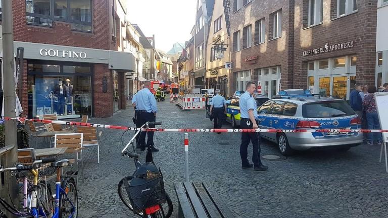 Бус се вряза в тълпа в германския град Мюнстер в