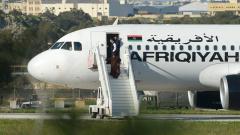 Похитителите се предадоха, всички напуснаха отвлечения либийски самолет