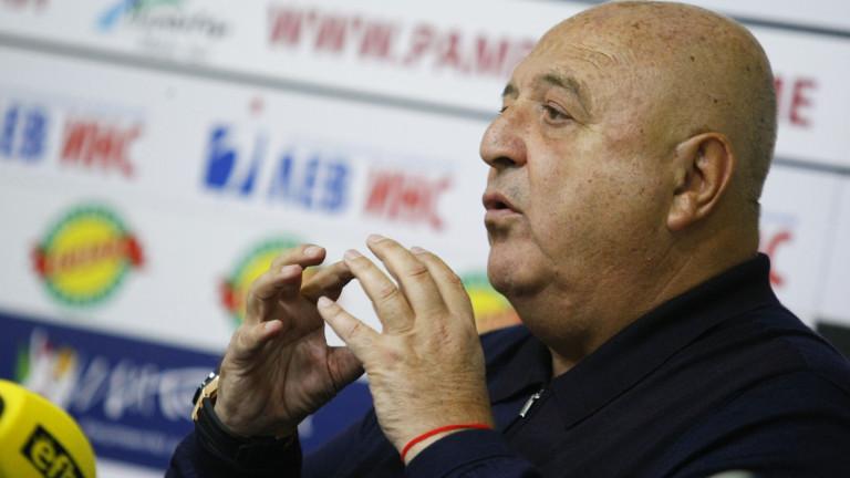 Венцеслав Стефанов за съдията на дербито с Левски: Той е най-опитният, дано няма задни мисли