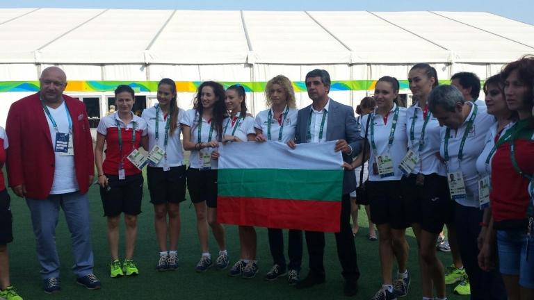 Президентът се срещна с българските олимпийци в Рио
