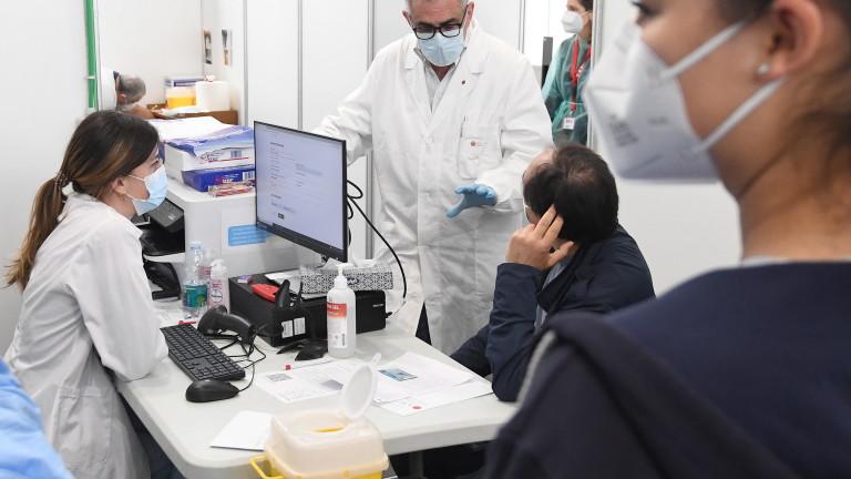 Италия отбеляза рекорд по ваксинирани срещу коронавирус