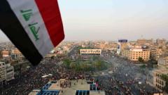 Хиляди иракчани протестират срещу правителството, Иран и САЩ