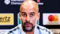 Пеп Гуардиола окуражи звезда на Манчестър Сити