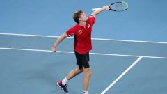 Давид Гофен победи Рафаел Надал за ATP Cup