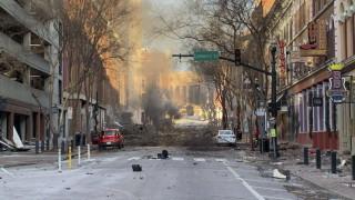 Разследват взрив в Нешвил,  Тенеси