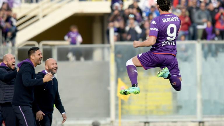 Фирентина победи Каляри с 3:0 у дома в мач от