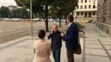 ЦИК приема документите на кандидат-президентите от 12 септември