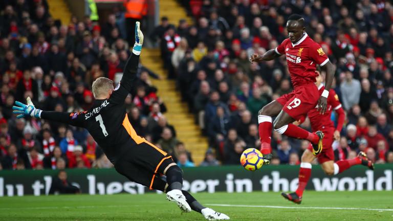 Ливърпул - Лестър 2:1, обрат след два гола на Мохамед Сала