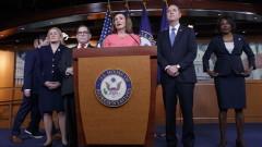 """Нанси Пелоси обяви """"прокурорите"""", които ще съдят Тръмп в Сената"""