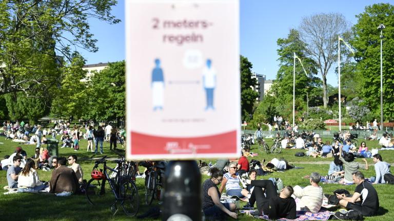 Доверието в способностите на правителството и здравните власти на Швеция