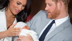 Защо Хари, а не Меган, държеше бебето на първите общи снимки