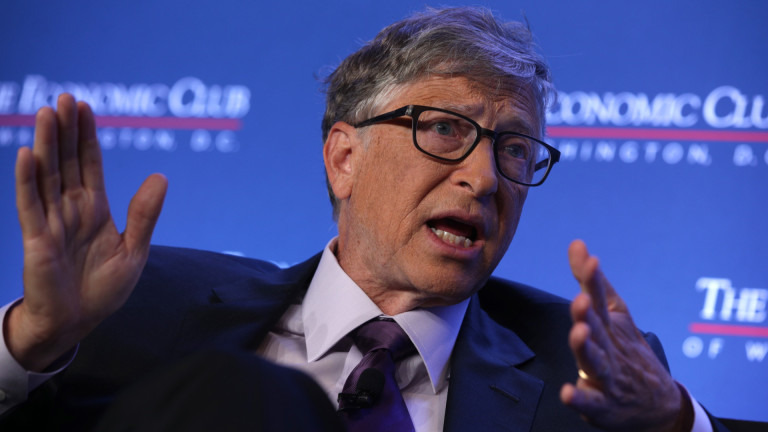 В пика на пандемията от COVID-19 Бил Гейтс обяви, че