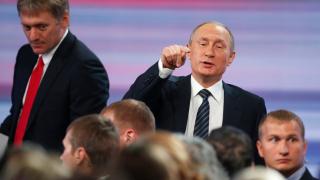 Кремъл размаха пръст на Вашингтон за обвиненията към Путин