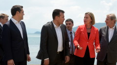 Могерини: Атина и Скопие показаха, че всеки спор може да се реши с диалог