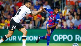 Испания иска да натурализира новата звезда на Барселона