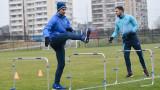 Радост в Левски - братя Цоневи започнаха тренировки