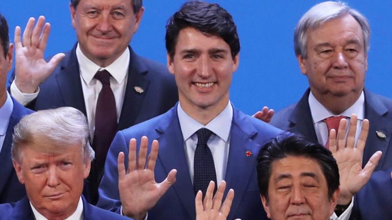 Канадският премиер Джъстин Трюдо подменя кабинета си за трети път