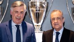 Анчелоти: Реал е моят дом, ще хвърля всички усилия, за да повторя предишните си резултати
