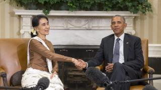 САЩ вдигат санкциите срещу Мианмар