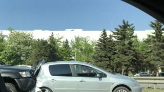 Три коли се удариха в центъра на Пловдив