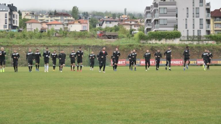 Локомотив (Пловдив) с последна тренировка преди големия финал