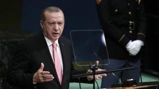 Ердоган нападна кюрдите в Ирак в ООН
