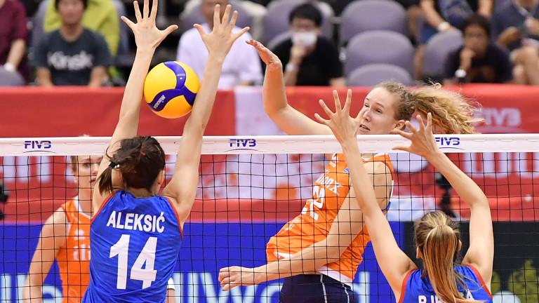 Сърбия победи Холандия с 3-2 в първия мач от петия