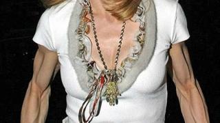 Появи се ужасяваща снимка на Мадона