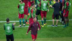 Посрещнаха с аплодисменти Роналдо в лагера на Португалия
