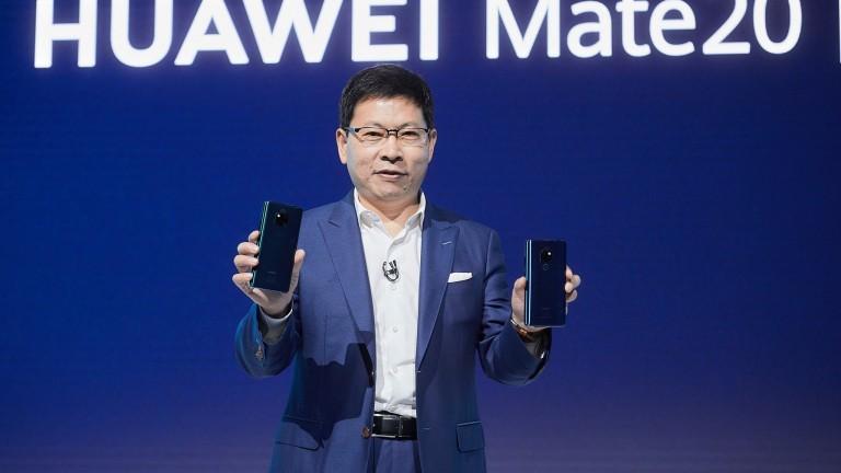 Снимка: Huawei показа новите си модели с пръстов отпечатък под дисплея и безжично зареждане