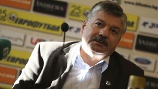 Юрий Кучев: Венци Стефанов не е президент на Славия, а изпълнителен директор