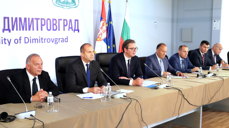 Президентите Румен Радев и Александър Вучич се договориха Сърбия да