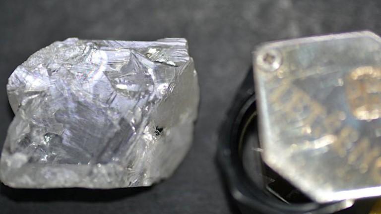 152-каратовият бял диамант е новото голямо откритие на Gem Diamonds