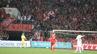 Славия - ЦСКА 1:1 (Развой на срещата по минути)