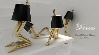 Лампа във формата на манекен