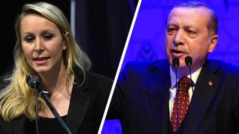 Марион льо Пен отвърна на Ердоган: Бъдещето на турците, живеещи в Европа, е Турция