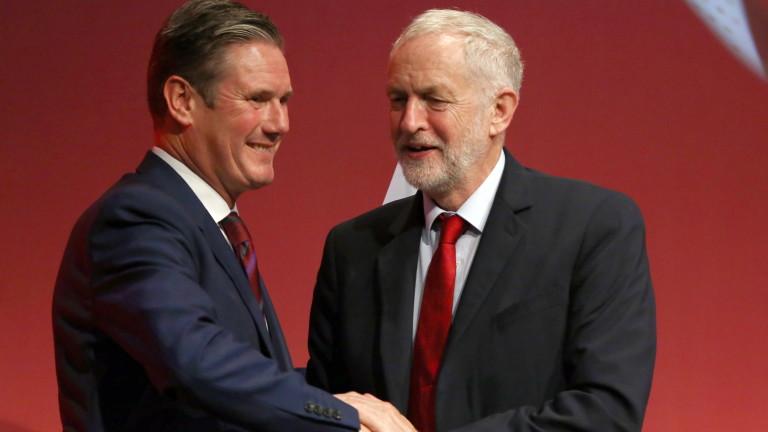 Лейбъристката партия на Великобритания е с нов лидер, пише