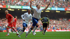 Потърсете гол-гол на Англия - Уелс
