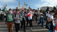 Пореден ден на многохилядни протести срещу Лукашенко в Беларус