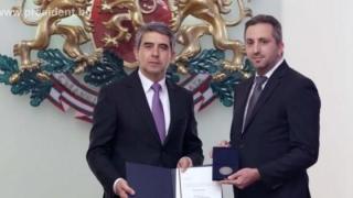 Президентът награди с почетен знак проф. Теньо Попминчев за революционно откритие
