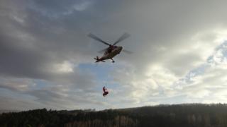 Спасиха с хеликоптер двама бедстващи руснаци на Витоша