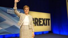 Националистите в Шотландия се заричат за нови референдуми за независимост и Брекзит