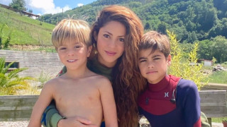 Забавленията на Шакира и синовете й