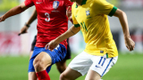Бразилия не срещна трудности с Южна Корея