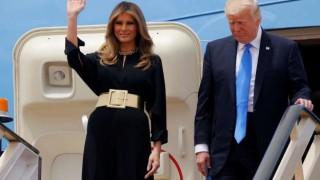 Мелания Тръмп адски стилна, скандализира в Саудитска Арабия